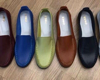 Handmade woman's moccasins, shoes, EDNO