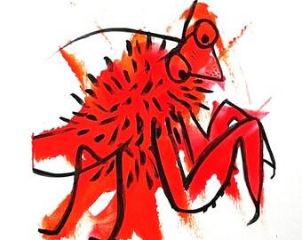 36 - Fuzzy Mantis