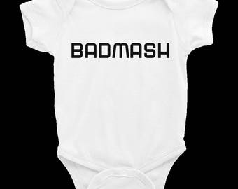 Badmash Infant Bodysuit Onesie