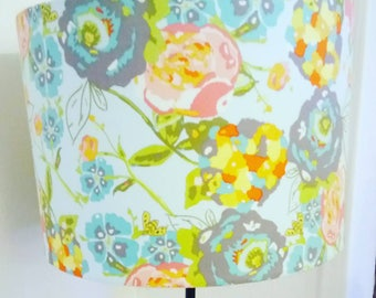 Floral Bee Lampshade
