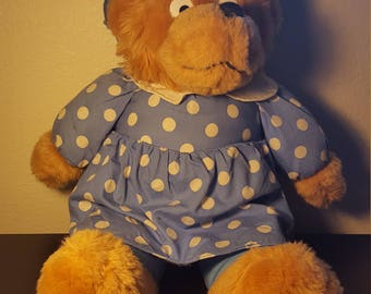 Vintage Berenstain Bears MAMA BEAR Plush
