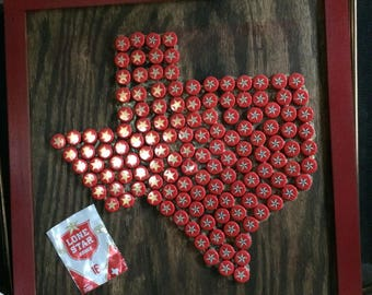 Lone Star Beer Wall Hanging.