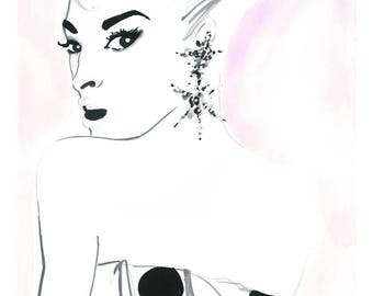 Think Pink Limited Edition Print 1 of 25