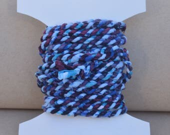 celestial skies handmade fabric twine cord with fortune ***