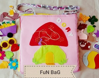 Handmade Fun Bag for kids