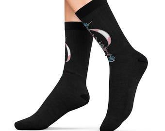 Trans Pride Vulcan Socks