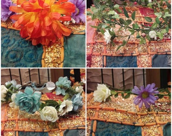 Boho Hippy Flower Crowns!