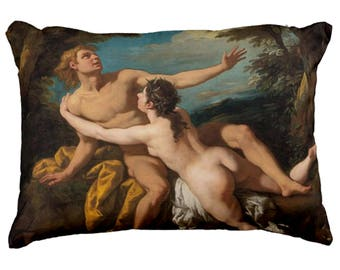 Classic erotic Painting style Decorative Pillow, Pouch or Mousepad