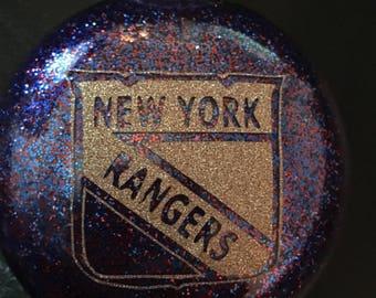 New York Rangers Christmas Ornament