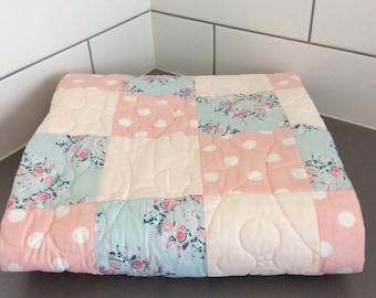 Handmade baby /toddler quilt