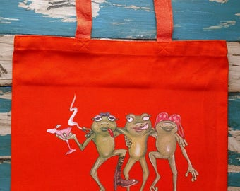 Toadily Wasted Tote Bag