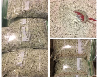 Dried Organic Moringa Bath Salts