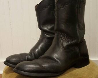 Black Ariat Cowboy Boots Size 12 Mens