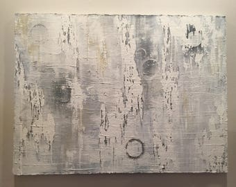 "Abstract art 24"" tall x 48"" wide"