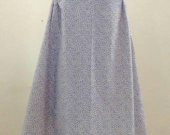 Romantic lace dress with silk belt