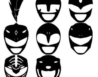 Power Ranger Decals