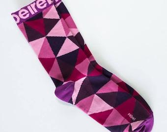 Dress Purple Socks