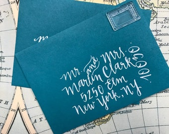 Custom Calligraphy Envelopes, Custom Wedding Envelopes, Custom Invites