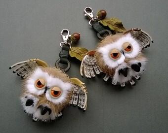 Keychain OWL polar
