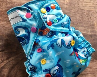 Seals OS pocket diaper