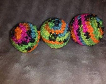 Crochet Catnip Cat Toys- Balls
