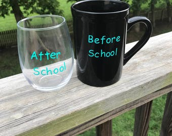 Back to School Set/before school/after school