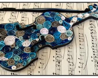 Violin Wild Atlantic Waves - Original art piece