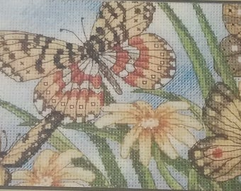 Butterfly Vignette Cross Stitch Kit