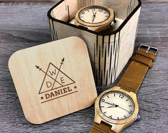 Police Officer Gifts, Thin Blue Line, Mens Wooden Watch, Police Wife, Police Girlfriend, Police Officer Badge, Wood Watches, Police Gifts