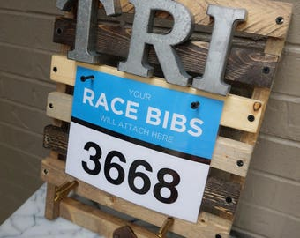 Race Medal Display – TRI – Made to Order