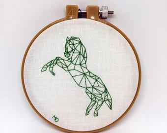 Contemporary Horse Embroidery