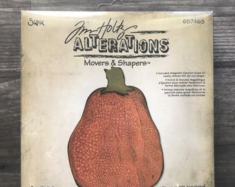 Tim Holtz Movers and Shapers Alterations  Pumpkin Jack Large Diecut