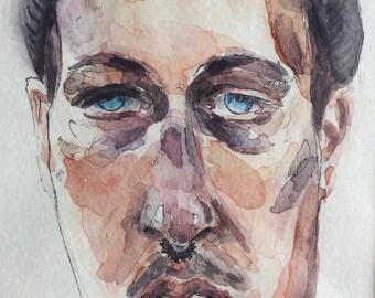 Watercolor Custom Portraits
