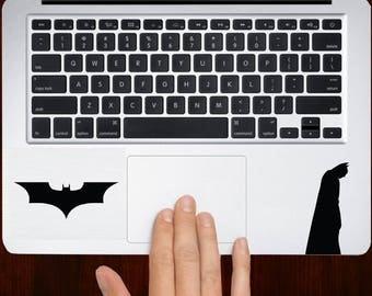Batman With Symbol Macbook Keyboard Trackpad Decal Stickers Mac Sizes 13 / 15 / 17 Laptop