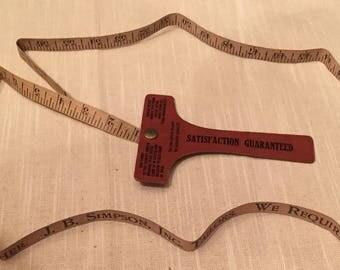 Tailor's Tape Measure