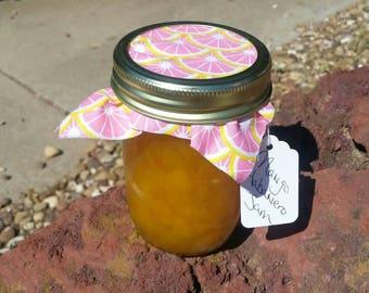 Homemade Mango Habanero Jam