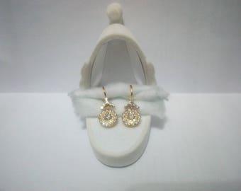 Earring Victorian malaya vintage