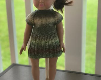 American Girl Dress and Mary Jane Shoes