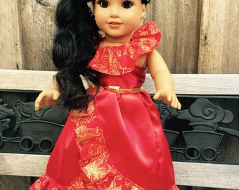 Princess Elena outfit for american girl doll