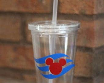 Disney Cruise Drink Tumbler/Cup