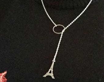 Necklace silver tower Effeil.