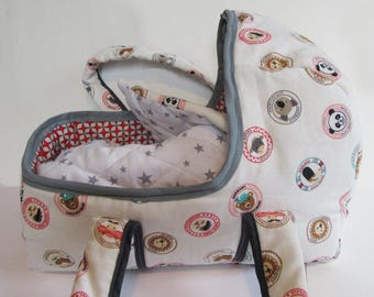 Bassinet for baby, doll, stuffed animals