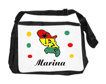 Martinique bag personalized with name