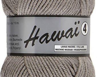 Grey cotton yarn (038) 4 skeins needle 4-4, 5 - strand Hawaii Lammy Yarns, 60% cotton