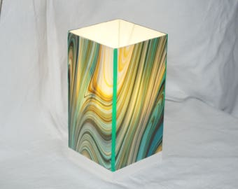 Stained glass, Stained glass lamp, Glasmalerei lamp lamp