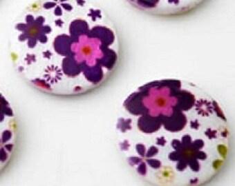 flat shell beads