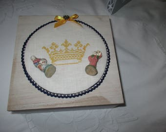 Box beans * Kings Crown * for collectors.