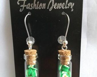"""Green apples"" Stud Earrings"