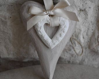 Tenderness collection sweet wooden hearts