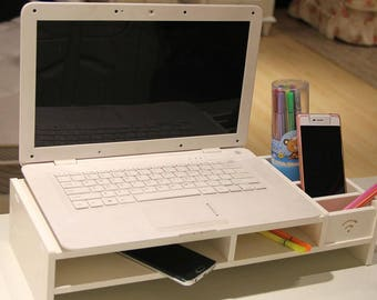 Simple Monitor Computer Riser Desktop Stand